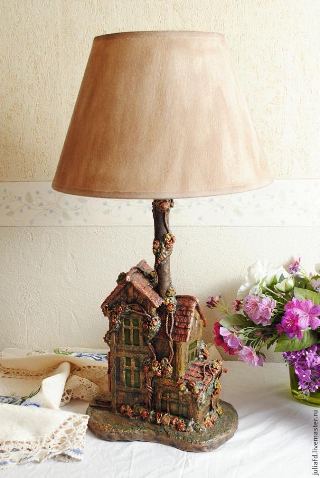 Лампа-дом из того что под рукой