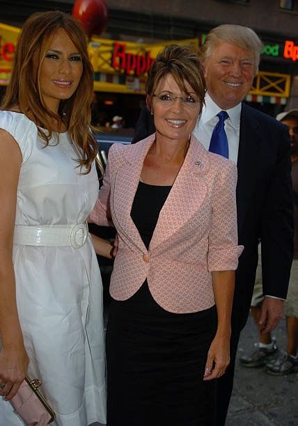 The Trumps with Former Alaska Gov Sarah Palin