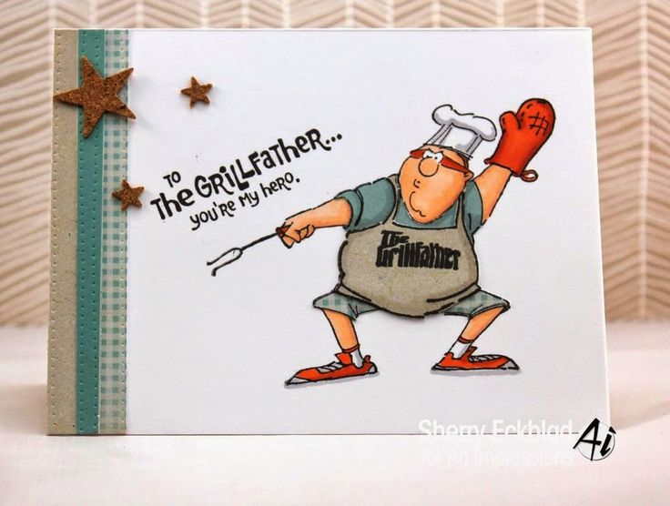 """Art Impressions Rubber Stamps: Challenge 134 - """"Anything Goes - Masculine"""" + Ai Heroes Launch"""