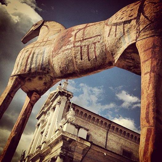 L'esterno del MAR, Museo d'arte contemporanea della città di ravenna. Pic by @andreabernabini, via Instagram http://bit.ly/XA5Fjo