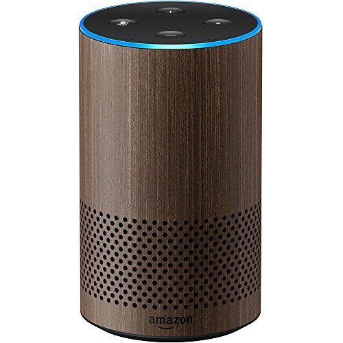 Echo (2nd Generation) - Smart speaker with Alexa - Limited Edition Walnut Finish