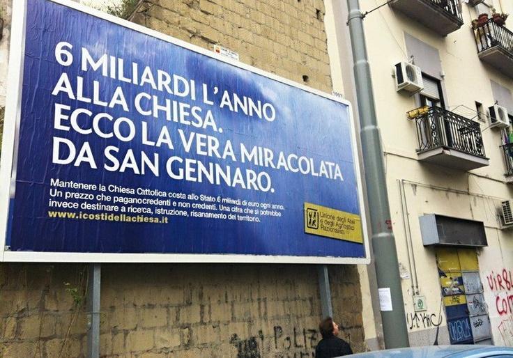 UAAR: Boom di Sbattezzi in Italia a Natale