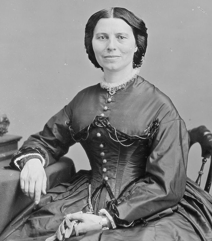 Social reformer, and founder of the American Red Cross, Clara Barton, was born Dec. 25, 1821.