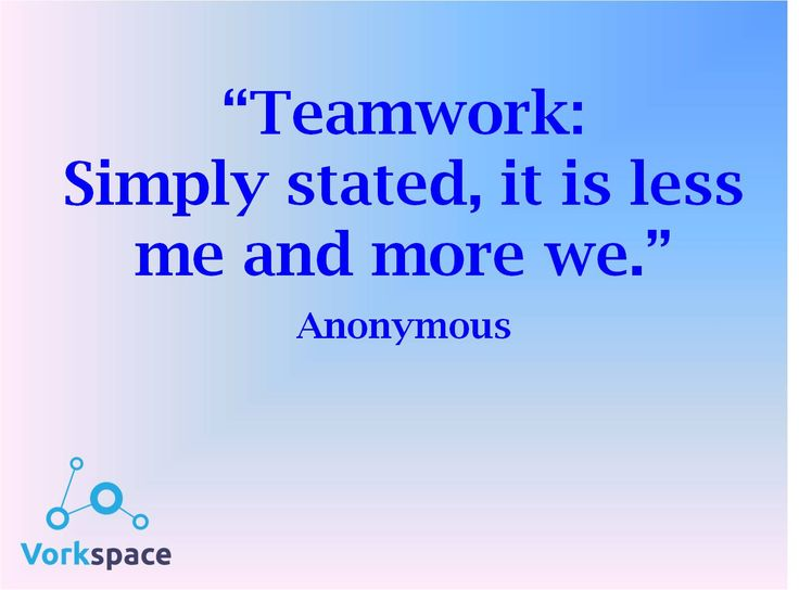 how to know teamwork working well