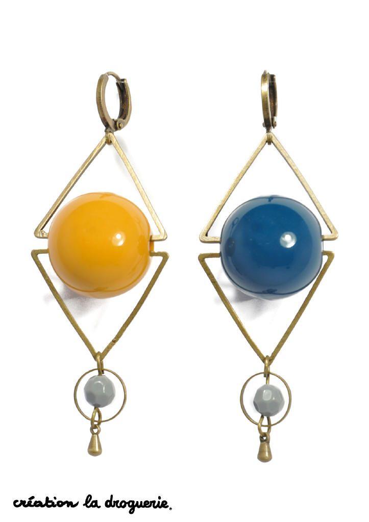 Des petites BO de couleurs différentes et mignonnes ! #ladroguerie #bijoux #bo