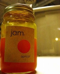 Apricot Jam made in the bread machine. Easy and delicious! Freezes well too!