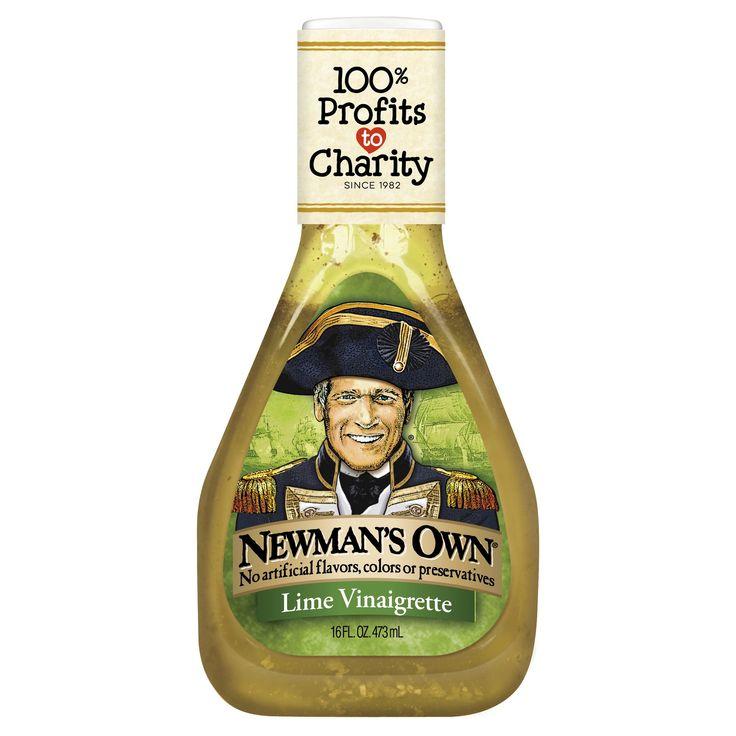 Newman's Own Lime Lite Vinaigrette - 16 fl oz