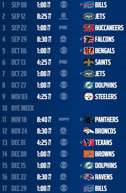 New England Patriots' 2013 schedule - NFL.com