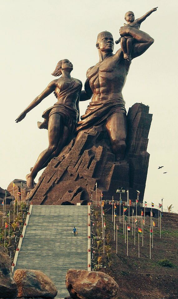 Image result for the african renaissance monument
