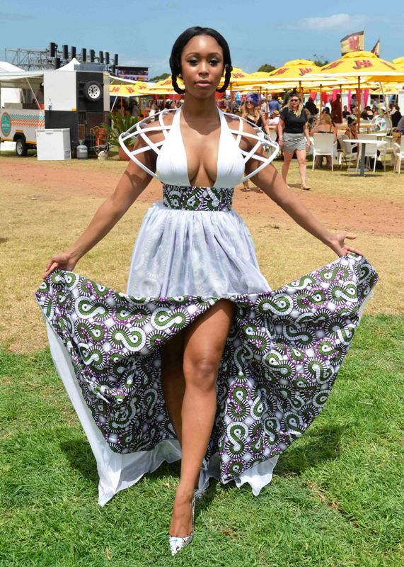 Minnie Dlamini @ J&B Met 2015, some awesome proportions and proudly African