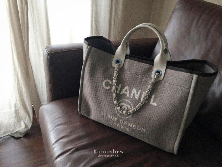 57 best chanel deauville tote bag portobello images on pinterest tote bag bags and portobello. Black Bedroom Furniture Sets. Home Design Ideas