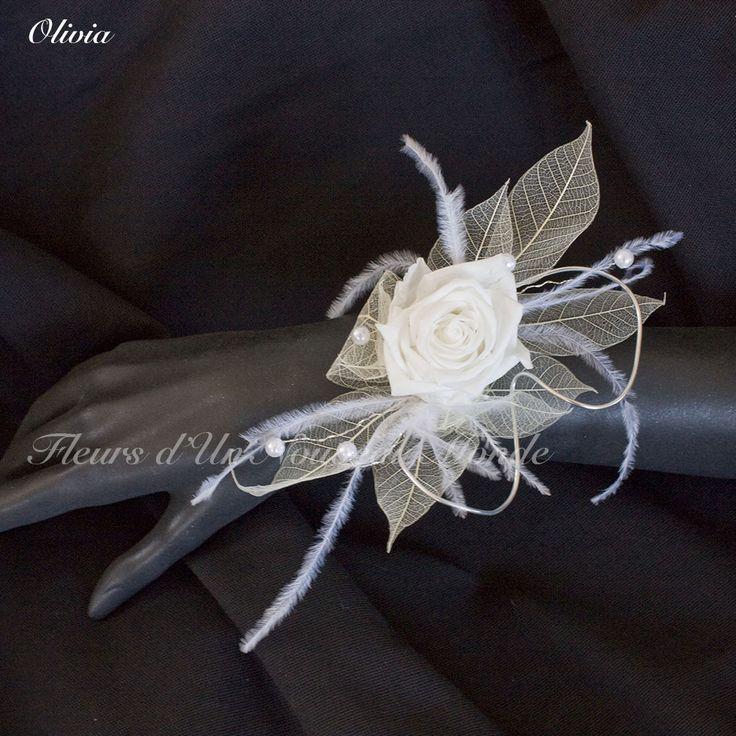 Bracelet Olivia - Fleurs d'un Nouveau Monde