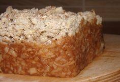 Almás morzsasüti NoCarb Rostmixből   Klikk a képre a receptért!