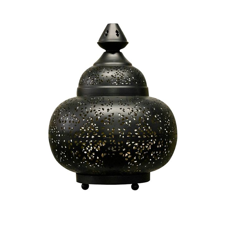 "Lampe de Table Sultan Matki 19x17"""