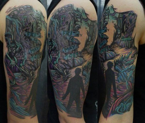 A Day To Remember done by Chris Toler. Seventh Sin Tattoo Company ...
