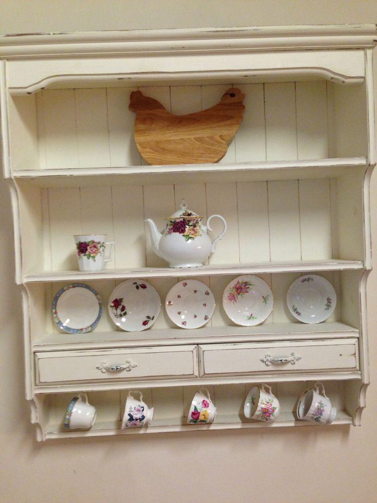 Vintage wall dresser