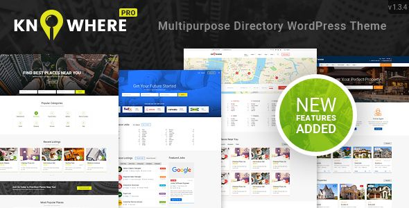 Knowhere Pro V1 3 4 Multipurpose Directory WordPress Theme Blogger Template
