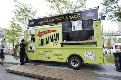 Tacos au cari d'agneau thaïlandais de Grumman78 #foodtruck #bouffederue