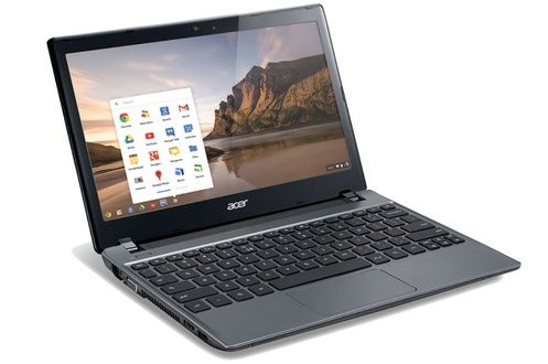 PC portable Acer Chromebook C7 prix promo Darty 249,00 € TTC