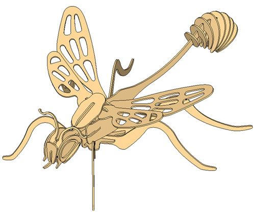 The Paralyzing Wasp - Insects   MakeCNC.com