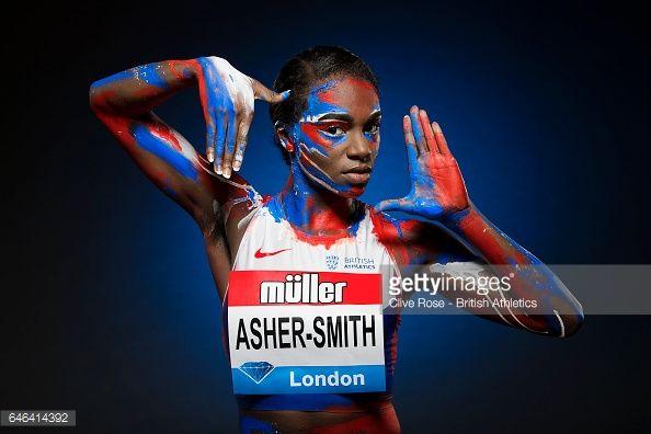 Fotografía de noticias : European 200m champion, Dina Asher-Smith of Great...