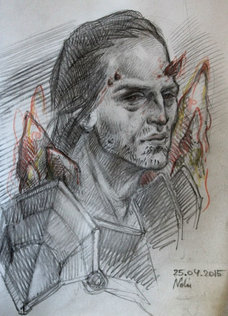 Nolu #dragonage #illustration #samson #fantasy