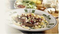 Steak Gorgonzola-Alfredo -- Olive Garden Copycat... Heaven!
