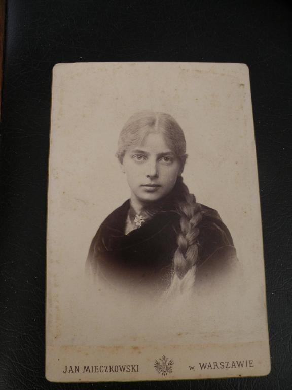 Fotografia 1880 r. Warszawa -Jan Mieczkowski BCM