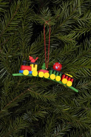 All aboard the Christmas train - Ornament