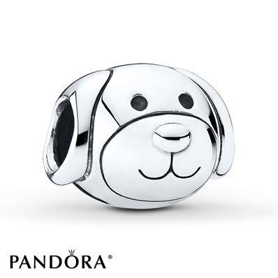 PANDORA Charm Devoted Dog Sterling Silver