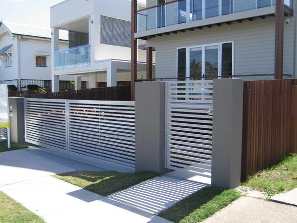 Best 25 Modern Fencing And Gates ideas on Pinterest Side gates