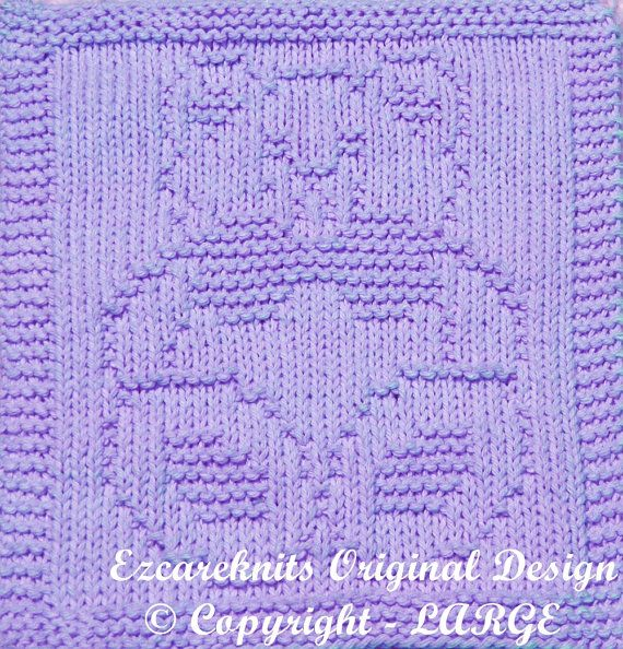 Knitting Pattern  SITTING BEAR  PDF by ezcareknits on Etsy