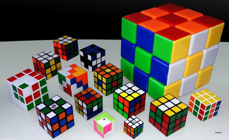 Pretty Rubik's Cube patterns with algorithms