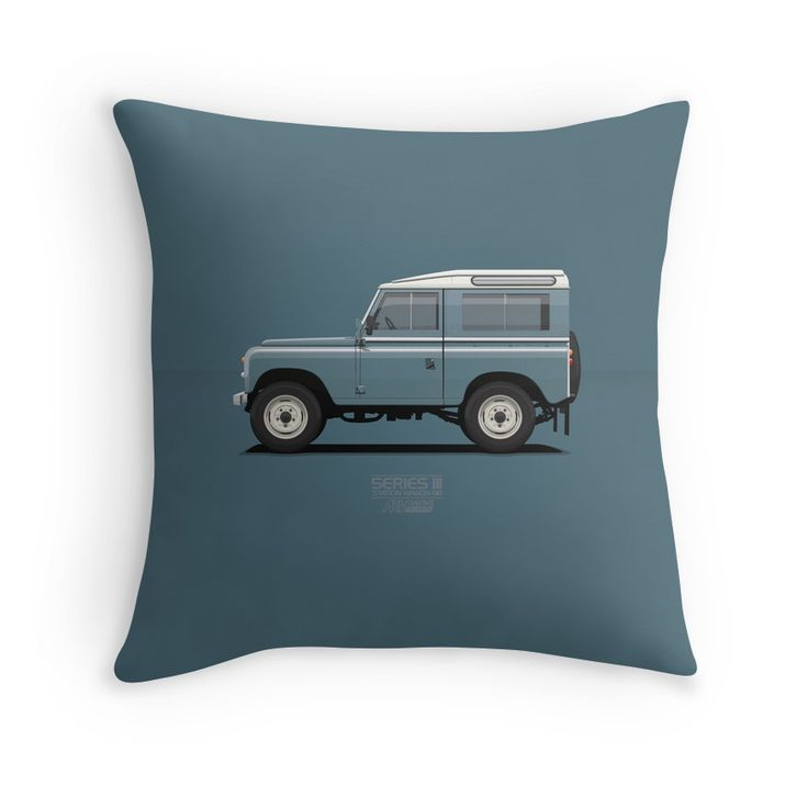Series 3 Station Wagon 88 Marine Blue Merchandise available at redbubble.com/people/arvwerks   @Redbubble  #redbubble #ARVwerks #landrover #landroverseries