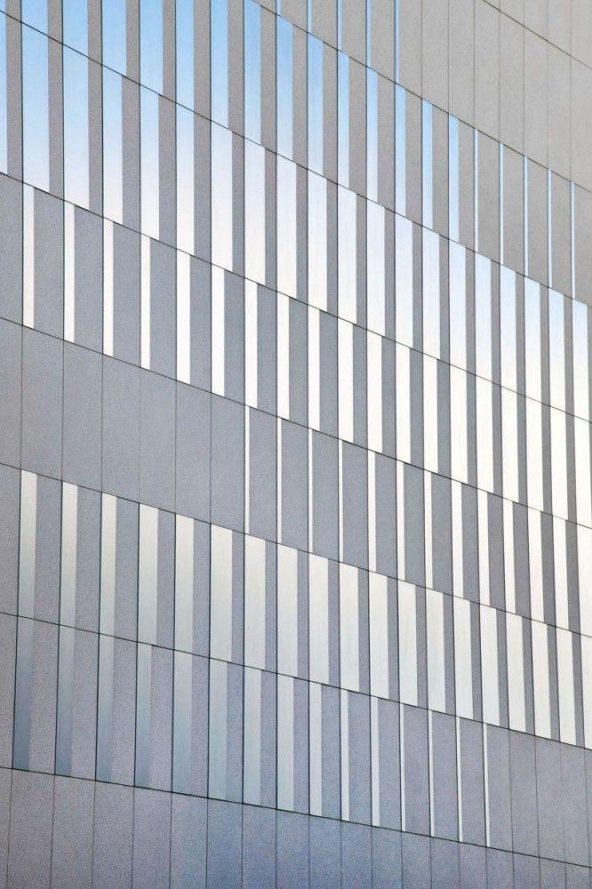 pajol sports centre - paris - brisac gonzalez - 2012 - façade detail