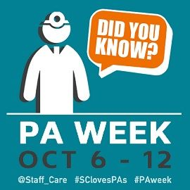 This year, National PA Week not only celebrates the role of the physician assistant in today's healthcare workplace, it also marks the profession's 50th birthday.