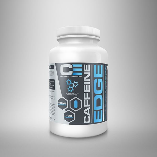 ANABOLIC EDGE CAFFINE 100 TABLETS #ANABOLICEDGE