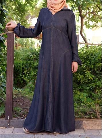 SHUKR UK | Tencel Hooded Princess Dress