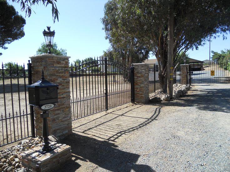 1000 Ideas About Iron Gates Driveway On Pinterest