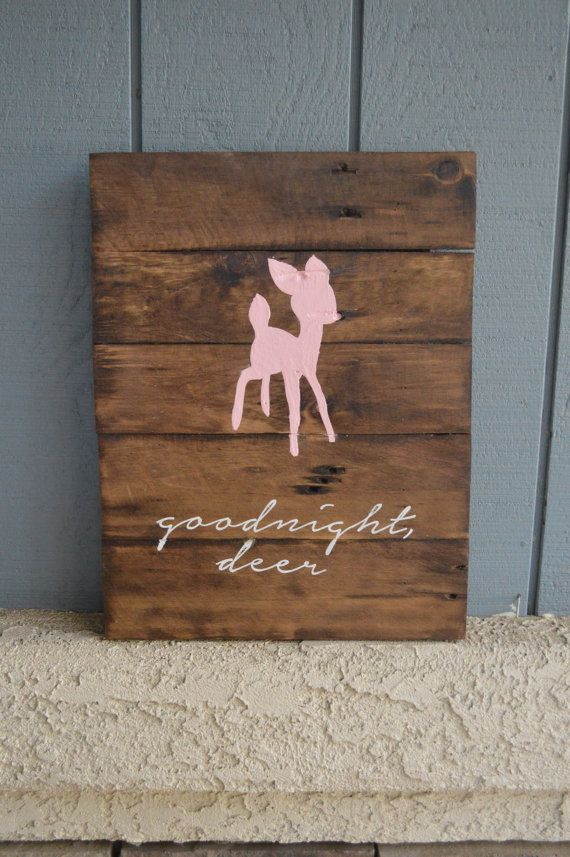 What a sweet addition to any rustic bedroom! How great would these look in a rustic nursery, kids room, and even adults purchase for their