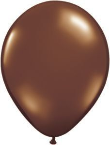 Single Source Party Supplies   Round 11' Fashion Chocolate Brown Latex Balloons Bag of 10. #Single #Source #Party #Supplies #Round #Fashion #Chocolate #Brown #Latex #Balloons