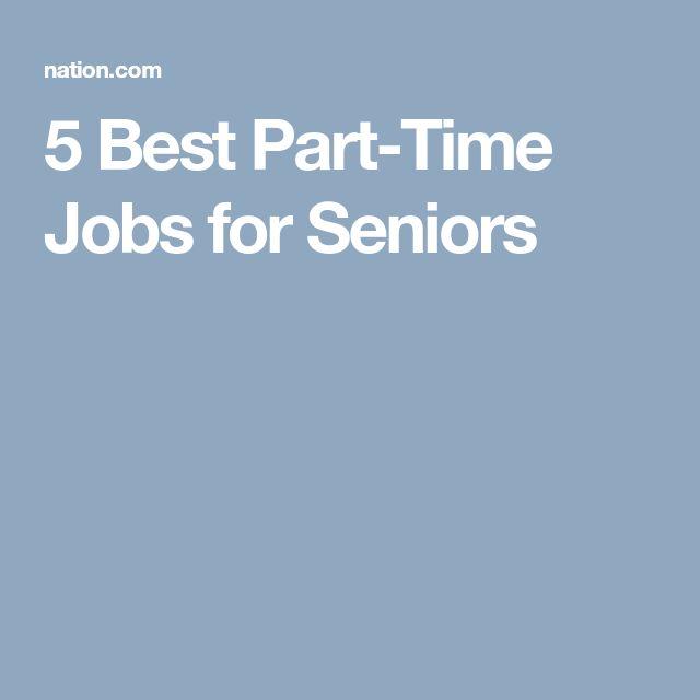 part time jobs for highschool seniors