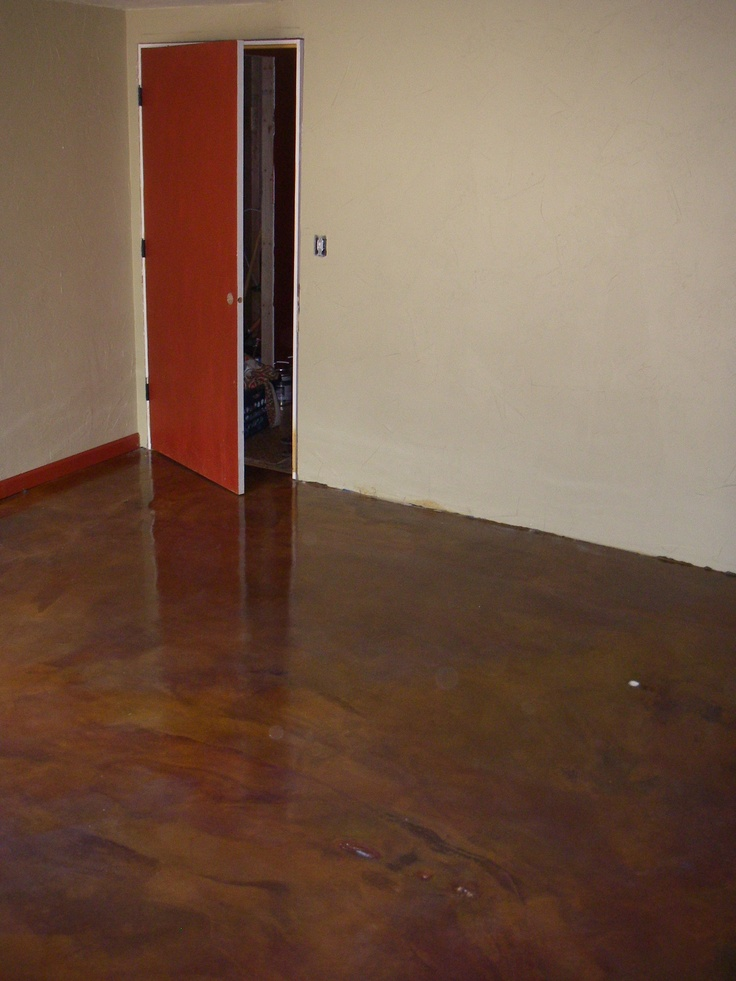 Acid Washed Concrete Floor Stained Concrete Ideas