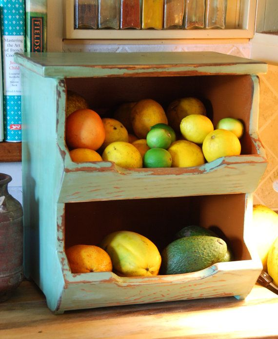 i want a shelf like this one in my kitchen. Or more than one - for potatoes, onions and tomatoes, too