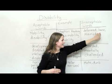 Handicapped vs Disabled - Difference and Comparison | Diffen