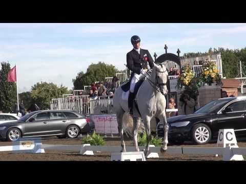 British Dressage Nationals 2013; Spencer Wilton and Doogie