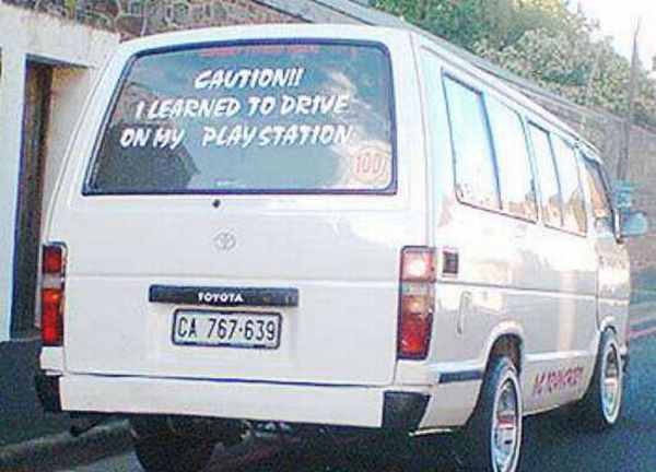 car-humor-joke-funny-learned-to-drive-on-playstation