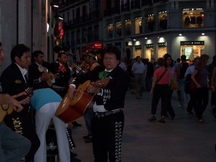 Mariachi en Madrid.