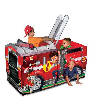 Another great find on #zulily! PAW Patrol Marshall Fire Truck Play Tent #zulilyfinds
