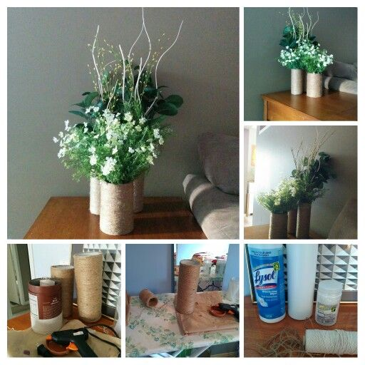 diy home decor the sticks are from rona everything else if from dollarama home. Black Bedroom Furniture Sets. Home Design Ideas